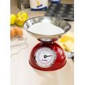 Steelex Red Metal Kitchen Scales
